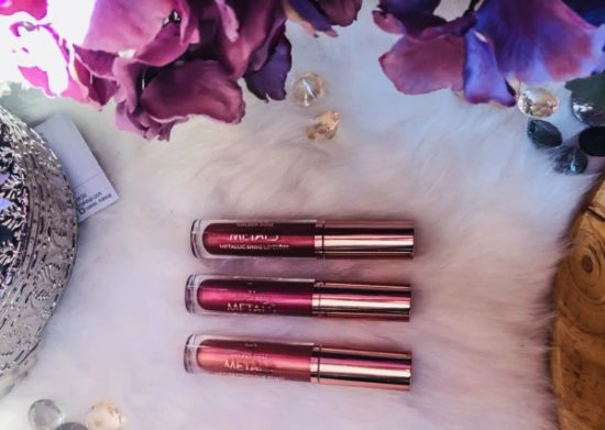 Lipgloss metallic Cookie's makeup my sweet beauté