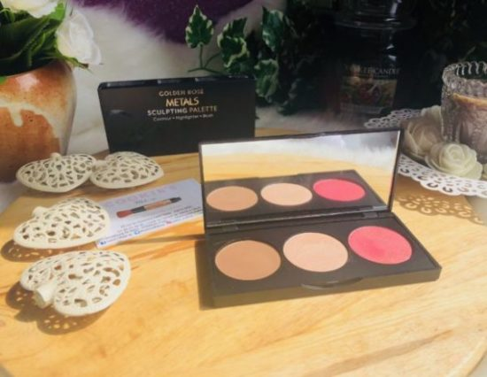 metals sculpting palette cookie's Make up my sweet beauté