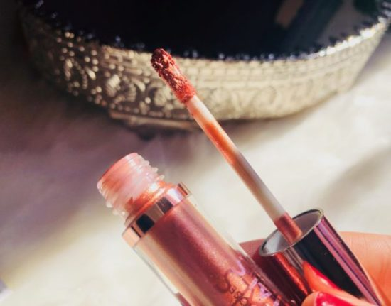 pinceau embout lipgloss mettalic cookie's makeup
