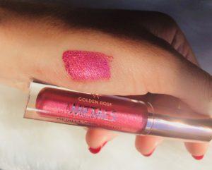 pink rose cookie's make up