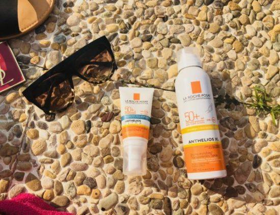 Crème solaire visage et brume invisible la roche posay avis