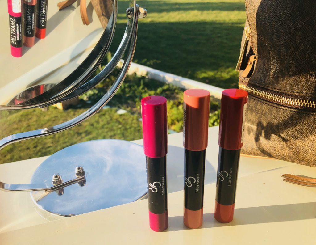 My sweet beauté test les lipsticks cookie's makeup avis lispsticks lèvres hydratées