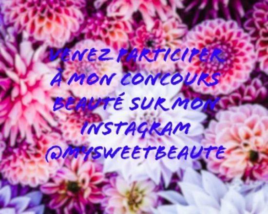 #CONCOURS #gift #giveaway #beauté #mysweetbeaute #giveaway #makeup #instagram my sweet beauté concours beauté