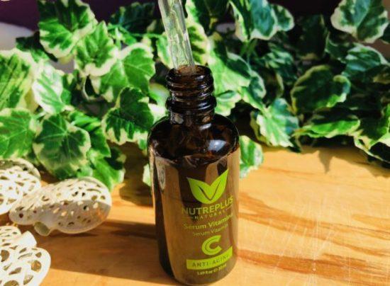 Sérum vitamine c peau terne