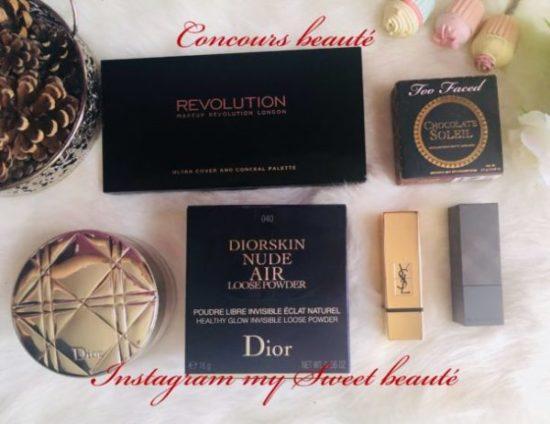 concours beauté à gagner un lot makeup sur instagram #mysweetbeaute #instagram #concours #giveaway