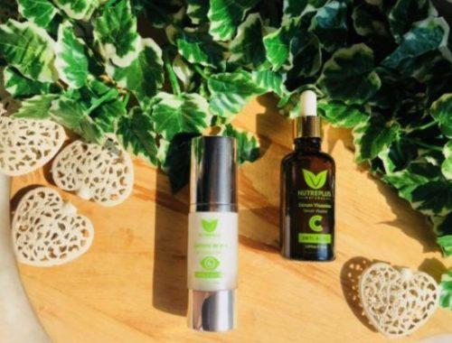 my sweet beauté avis nutreplus produits naturels espagnols avis soins natural vitamine c sérum contour des yeux efficaces
