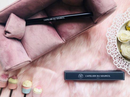 My sweet beauté test le crayon sourcils l'atelier du sourcil avis sourcils bien tracés