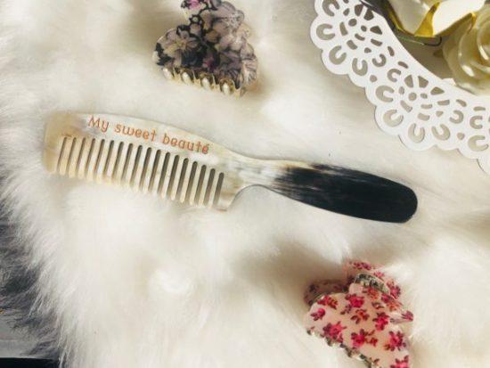 peigne en corne thomas liorac avis cheveux plus brillants plus soyeux