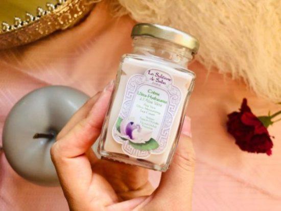 Ma crème à l'aloé Vera ultra-hydratante La sultane de Saba