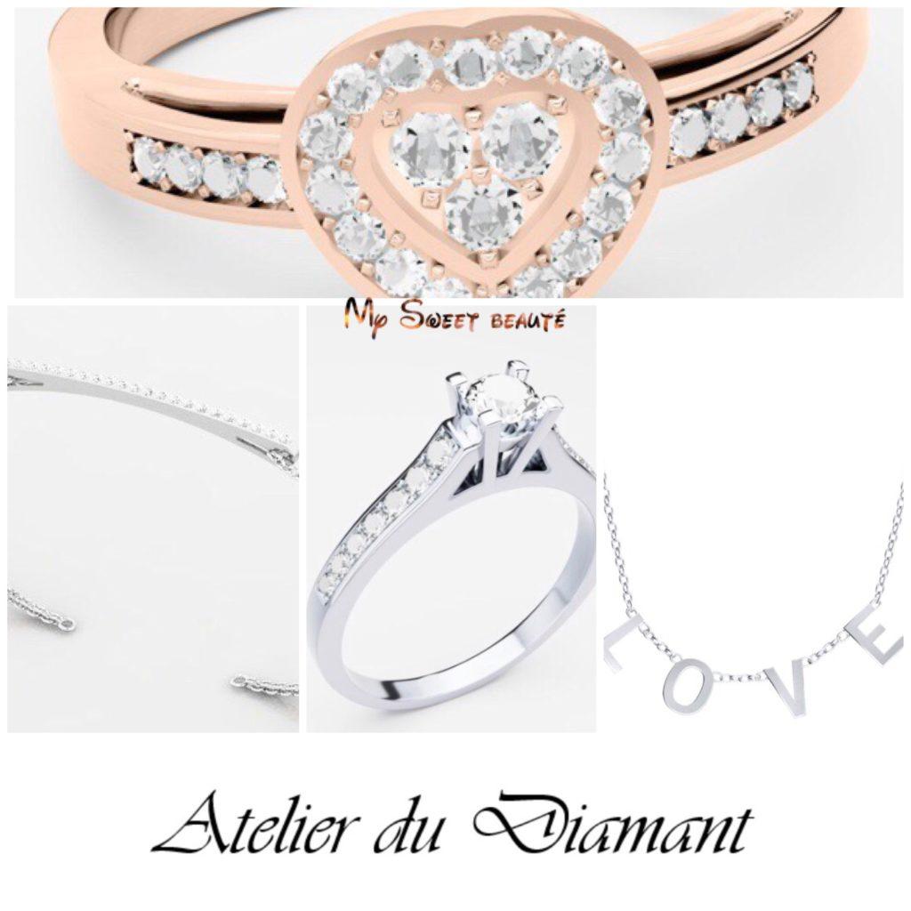 My sweet beauté teste les bijoux personnalisable atelier du diamant avis