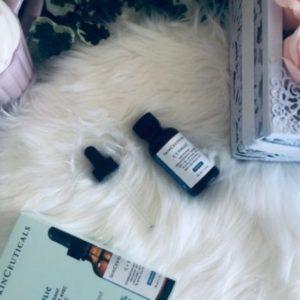 Sérum antioxydant skin ceuticals avis bloggueuse my sweet beauté
