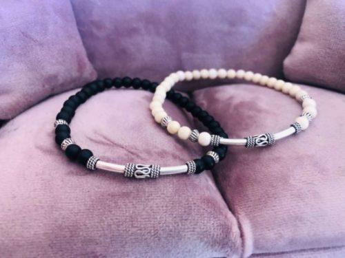 Avis bracelet en argent dunp