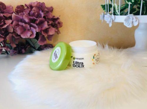 Masque Garnier lait d'amande et sève d'agave bio