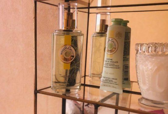 test eau parfumée roger et gallet