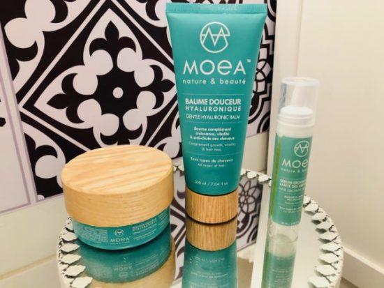 Mysweetbeaute test gamme cheveux sérum masque moea