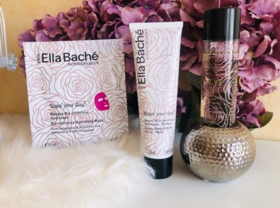 Mysweetbeaute test ella baché soins roses your body