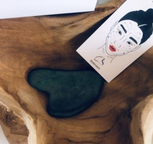 Rituel chinois le jade gua sha