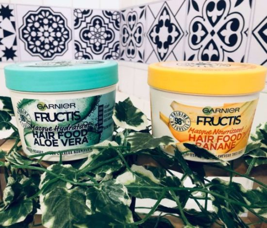 Avis nouveau maque hair food garnier fructis my sweet beaute