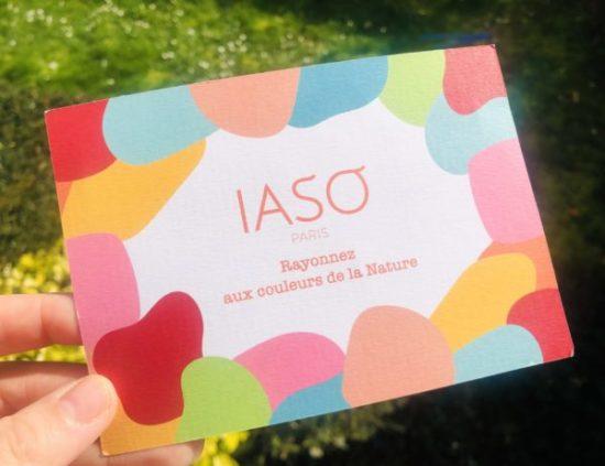 IASO rayonnez aux couleurs de la nature