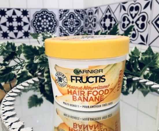 Masque banane hair food nouveauté mysweetbeaute