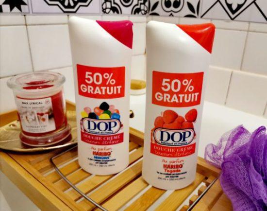 Dop douche crème pas cher