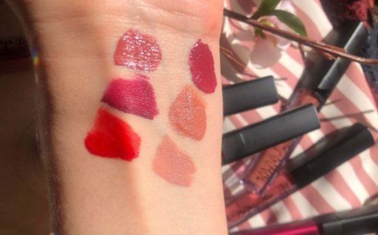 swatch rouges à lèvres JOyce