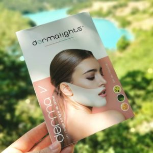 Dermalight avis masque double menton