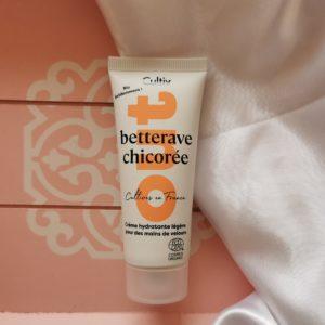 crème mains hydratantes cultiv marque bio betterave et chicorée