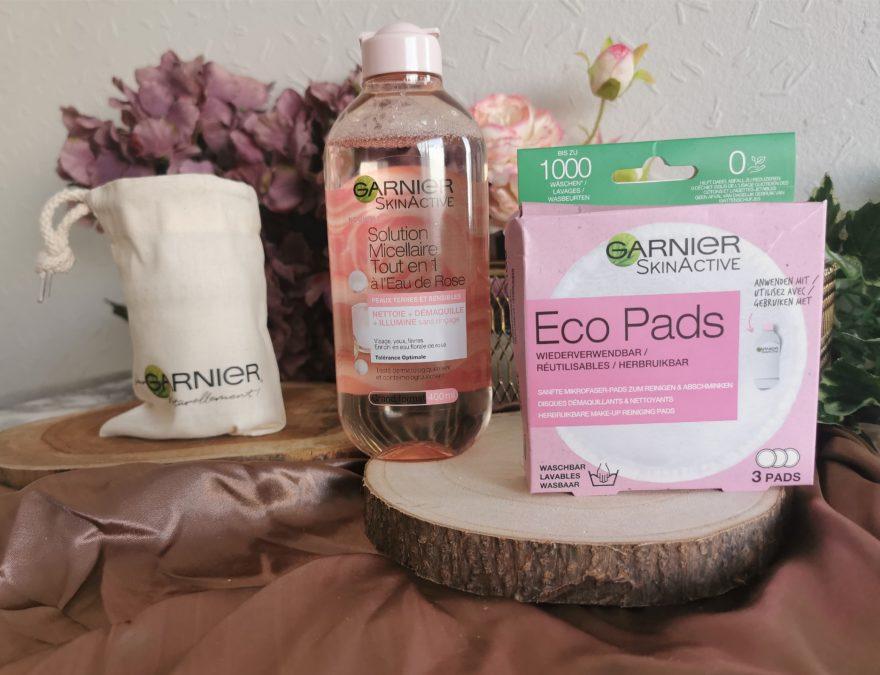 gamme rose garnier solution micellaire coton économique