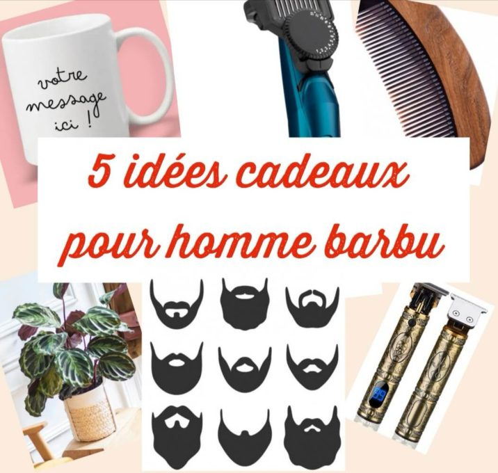 Idée cadeaux homme barbus my sweet beauté