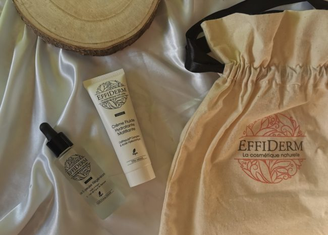 My sweet beaute test effiderm cosmetique naturelle